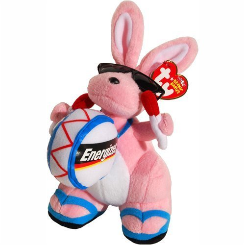 TY Beanie Baby - ENERGIZER BUNNY the Bunny (Walgreen's Exclusive) (Energizer Bunny Toy)