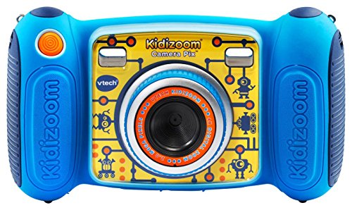 Pixel Resolution Camera - VTech Kidizoom Camera Pix, Blue (Frustration Free Packaging)