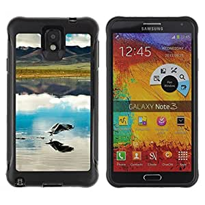 """Hypernova Defender Series TPU protection Cas Case Coque pour SAMSUNG Galaxy Note 3 III / N9000 / N9005 [Naturaleza Hermosa Forrest Verde 53""""]"""