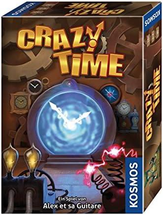 KOSMOS Crazy Time Juego de Habilidades motrices Finas - Juego de Tablero (Juego de Habilidades motrices Finas, 30 min, Niño/niña, 12 año(s), 129 mm, 179 mm): et sa Guitare, Alex: Amazon.es: Juguetes
