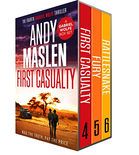 - Gabriel Wolfe Boxset #2: First Casualty, Fury, Rattlesnake (The Gabriel Wolfe Thrillers Boxset)