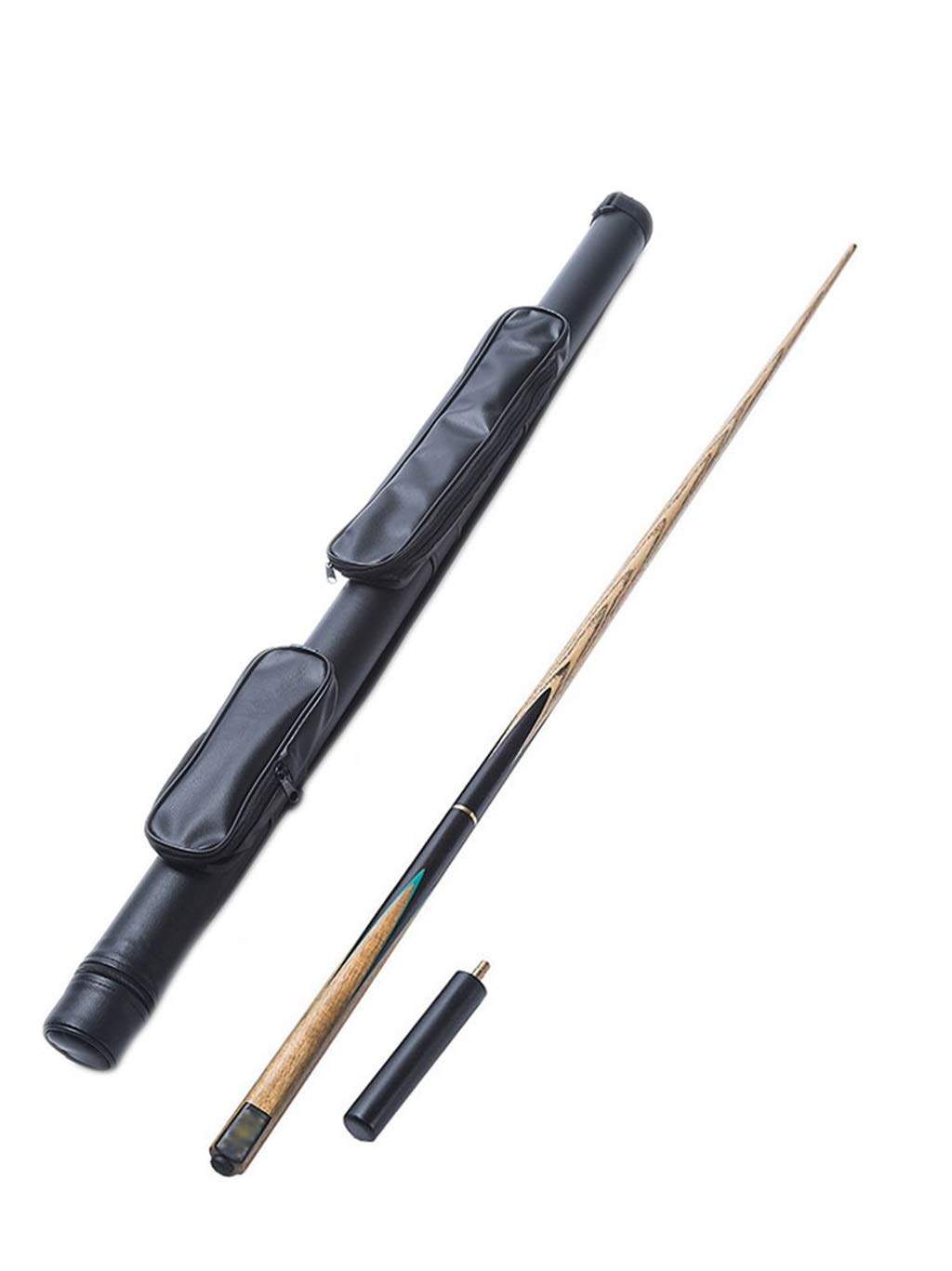 Lcrod プールの合図 手作り なめらか 強力な ストレートロッド 丈夫 灰 木の棒 にとって スヌーカー 初心者 クラブ (Color : B) B