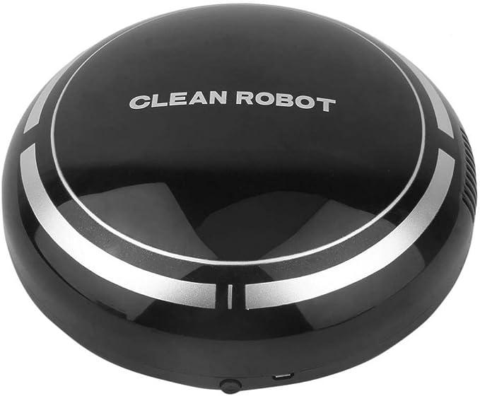 DYHM Robot Aspirador Mini Smart Cleaner Robot Aspiradora Inteligente Eléctrico Inalámbrico Automático Multidireccional Redondo Robot de Barrido Limpieza del hogar: Amazon.es: Hogar