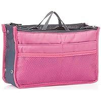 RNAZLIS® Women's Makeup Cosmetic Organizer Handbag Travel Purse Toiletry pouch(Multi-Color)