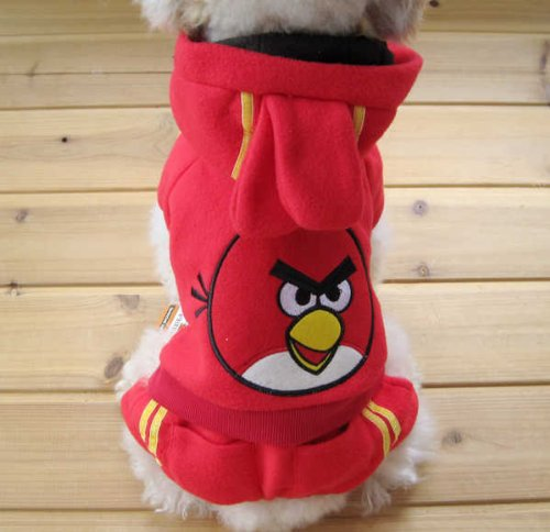 ... Costume · RED Angry Birds Jacket for Pet ... & Dogs Angry Birds Halloween Costumes