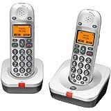 Audioline BIG TEL 202 - Teléfono inalámbrico