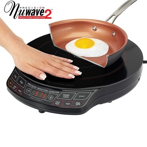 "TELEBrands NuWave 2 Precision Induction Cooktop with 9"" Pan"