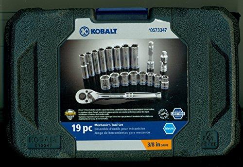 Kobalt 19-Piece Metric Mechanics Tool Set