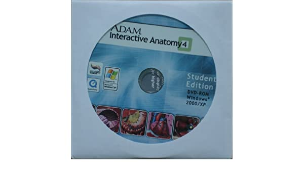 Amazon.com: A.D.A.M. Interactive Anatomy 4, Student\'s Edition: Software