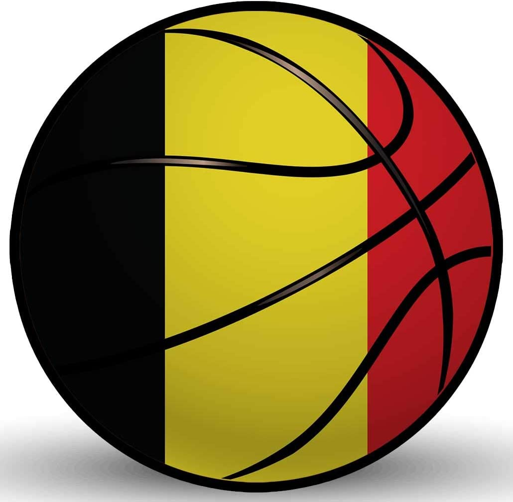 BELGIUM FLAG VINYL DECAL STICKER MULTIPLE SIZES TO CHOOSE FROM