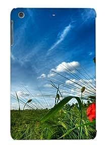 Hot Design Premium VpNEcHw841JtrHH Tpu Case Cover Ipad Mini/mini 2 Protection Case (wheat Field )