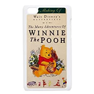 iPod Touch 4 Case White Many Adventures of Winnie the Pooh Phone cover E1335474