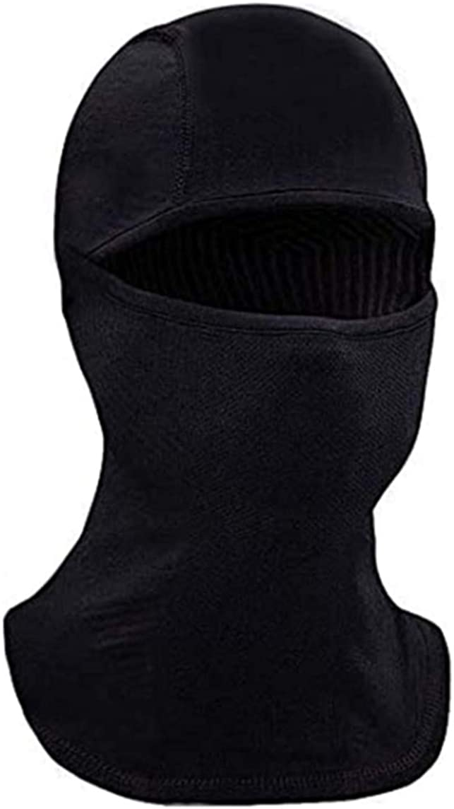 Ski Mask Balaclava for Cold Weather, Windproof Neck Warmer or Tactical Balaclava Hood, Ultimate Thermal Retention for Men Women and Children Black: Clothing