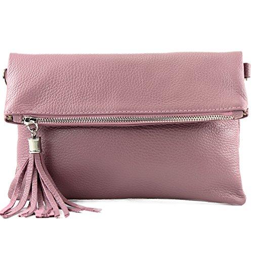 leather leather T54 bag Wild croco shoulder leather shoulder bag bag Italian Altrosa underarm bag small Clutch nappa qIZP7wO