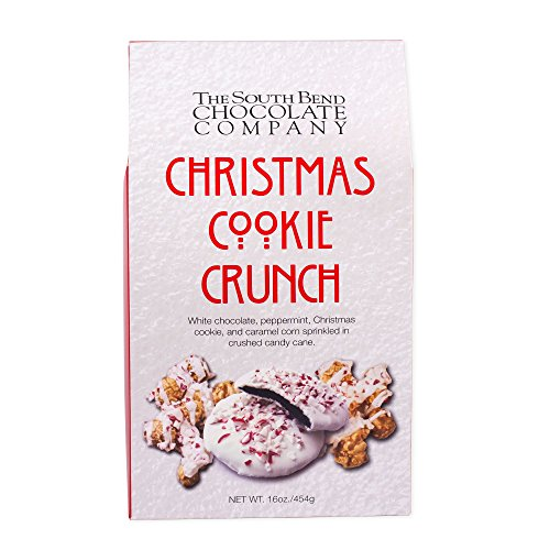 South Bend Chocolate Christmas Cookie Crunch - 1 Lb Gift Box