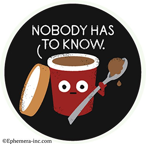 Nobody has to know.- Pin Back - Know Button