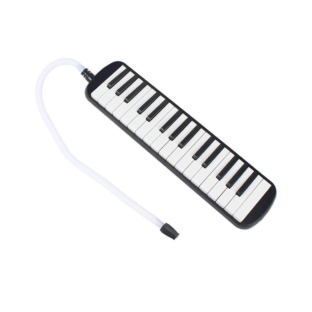 Timiy 32 Keys Melodica Piano with Mouthpieces Tube & Carrying Bag Musical Instrument Black by Timiy (Image #2)