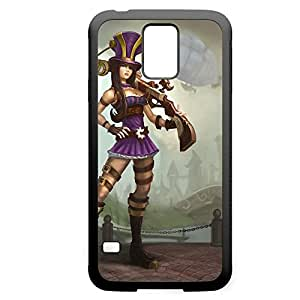 Caitlyn-001 League of Legends LoL For Case Samsung Galaxy S3 I9300 Cover - Hard Black