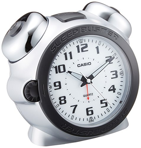 CASIO Analog Alarm Clock TQ 645 8JF