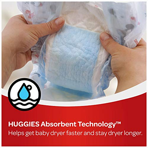 Huggies Snug & Dry Baby Diapers, Size 4, 88 Ct