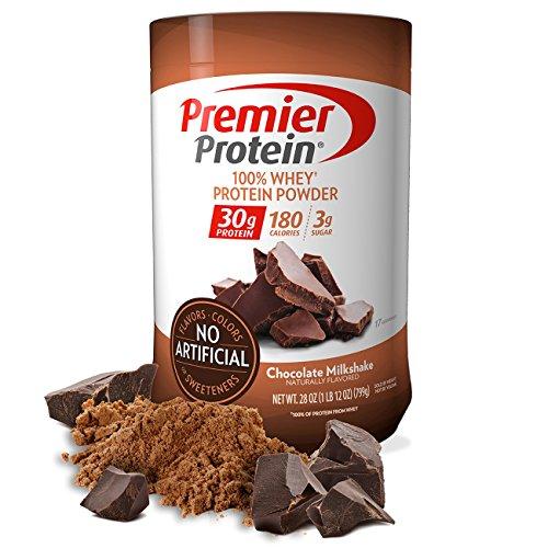 Premier Protein Whey Protein Powder  Chocolate   28 Oz