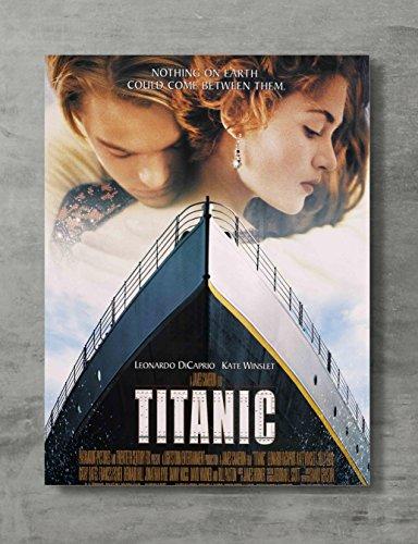 Titanic Movie Poster - Titanic Canvas Print Titanic Movie Wa