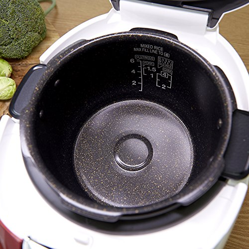 Cuckoo Electric Pressure Rice Cooker CRP-N0681F (Vivid Red) by Cuckoo (Image #4)