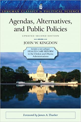 Amazon.com: Agendas, Alternatives, and Public Policies ...