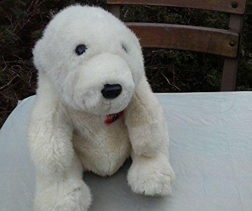 "1996 Coke Brand Plush Design Coca Cola Polar Bear 10"""