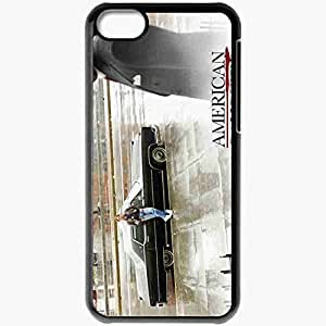 Personalized iPhone 5C Cell phone Case/Cover Skin A American Gangster 9384 Black