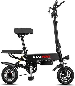Suyanouz EléCtrica Plegable Bicicleta Plegable De 10 Pulgadas En ...