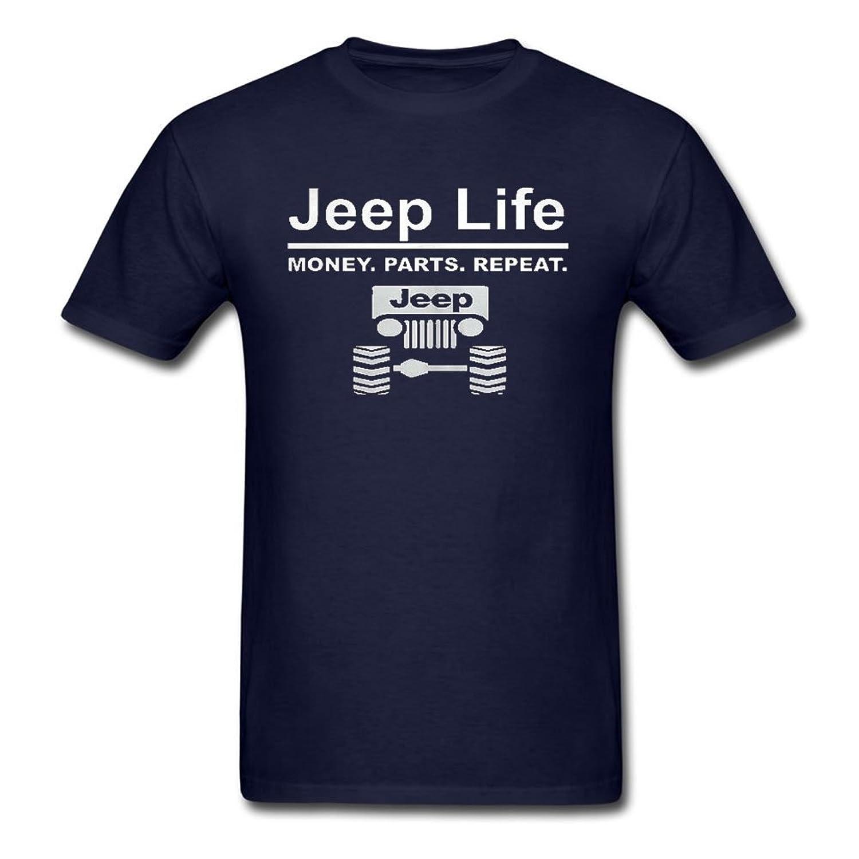 JenniferHenry Men's Jeep Life Shirt Navy Xxx-large