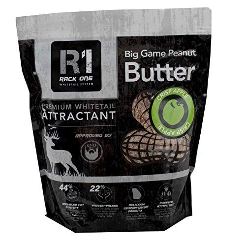 Rack One Big Game Peanut Butter 5 Pound Bag - Crisp Apple - Premium Whitetail Attractant