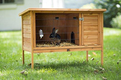 amazon com prevue hendryx 461 large rabbit hutch garden outdoor