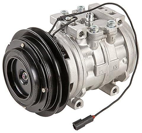 Brand New Premium Quality AC Compressor & A/C Clutch For Mitsubishi And Toyota - BuyAutoParts 60-01207NA - Pickup A/c Compressor
