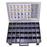 Brake Line Fitting Assortment - 3/16' and 1/4' Line - SAE/Metric Thread - 136 Piece