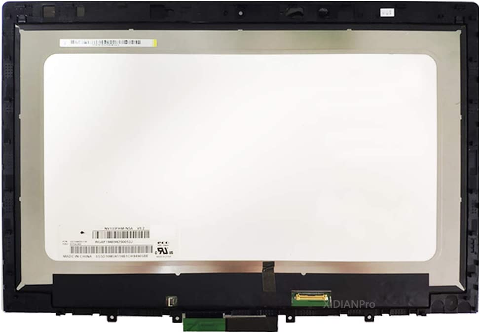 02DA313 02DA315 Digitizer Glass LED Display Panel Assembly FHD WUXGA 13.3 FirstLCD Touch LCD Screen Replacement for Lenovo ThinkPad L390 Yoga 20NU 20NT FRU