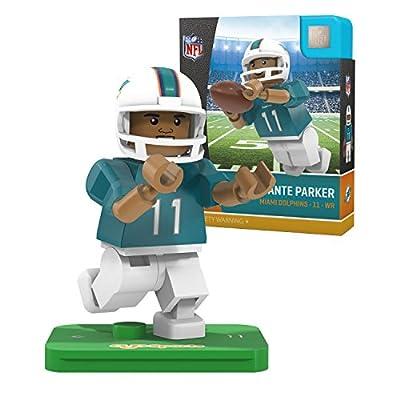 NFL Miami Dolphins Gen4 Limited Edition Devante Parker Mini Figure, Small, White