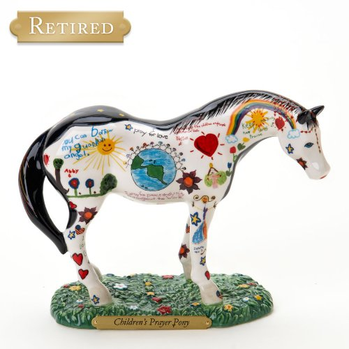 Enesco Trail of Painted Ponies from Children's Prayer Pony Figurine 6 IN 1586