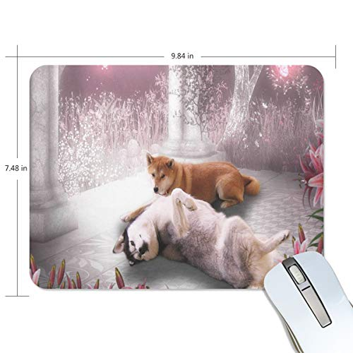 Mouse Pad Trendy Valentine Dog Gaming Mousepad Laptop Small Thick Mouse Mat Black Fantastic Mouse Pads