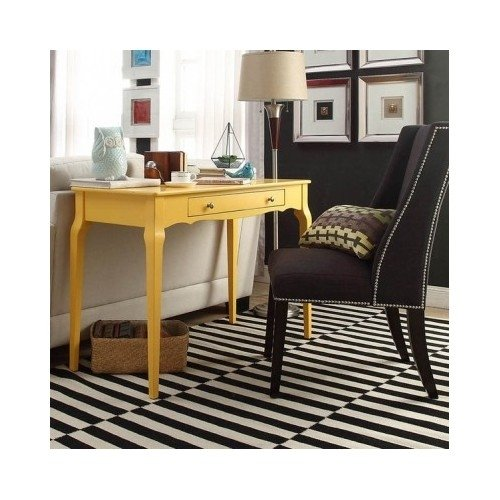 Compare price yellow console table on for Sofa table yellow