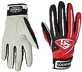 Best Louisville Slugger Batting Gloves - Louisville Slugger BG Series 5 Batting Glove, Scarlet Review