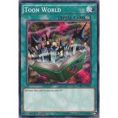 Yu-Gi-Oh! - Toon World (DPBC-EN046) - Duelist Pack 16: Battle City - 1st Edition - Common