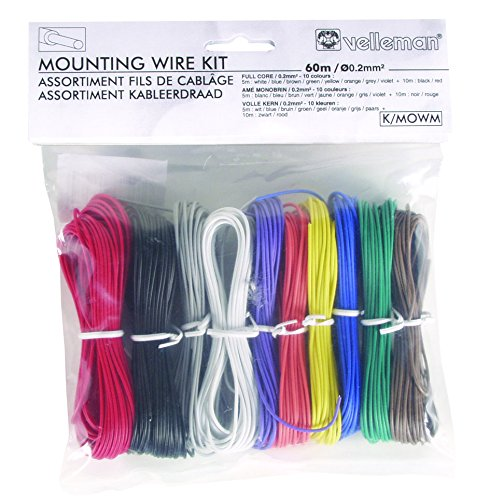 velleman-k-mowm-10-color-solid-core-mounting-wire-set