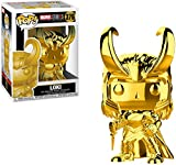Funko Pop Marvel: Marvel Studios 10 - Loki (Gold Chrome) Collectible Figure, Multicolor