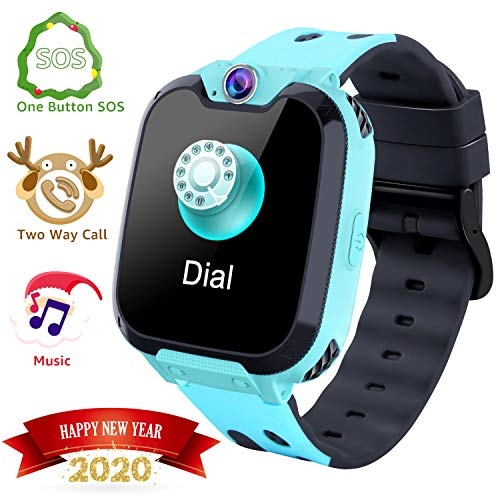 Kids Smart Watches- Smart Watch Phone for Boy Girl Music Kids Watch Funny Game Hd Touch Screen Sports Kid Smartwatches With Call Camera Recorder Alarm Clock Music Player, Suitable for Aged 2-12