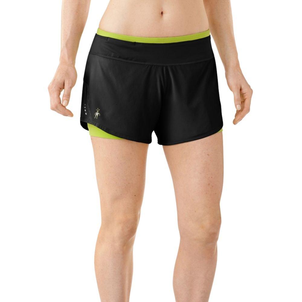 SmartWool Women's Phd® 2-In-1 Run Short, Black, Medium