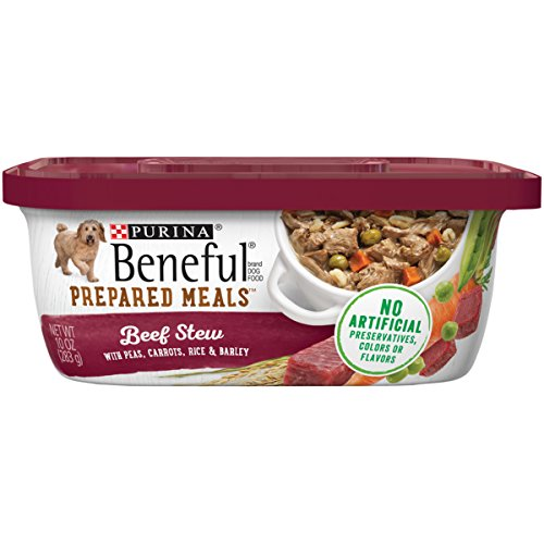 Purina Beneful Gravy Wet Dog Food; Prepared Meals Beef Stew - (8) 10 oz. ()