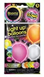 illooms LED Light Up Balloons 50pk (Mixed Color)