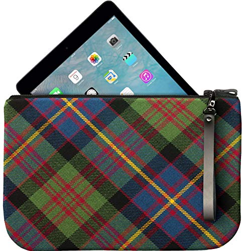 Tartan to Leather Enough Medium Cameron an With Clutch Bag Large Fit iPad HXqUax6